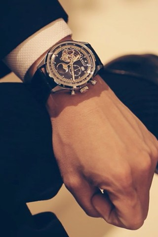 Man with watch..Perfect
